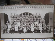 Vinatge photograph british medical staff photo RAMC mid east india pre 1939?