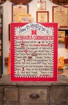 How to Really be a Nebraska Cornhusker