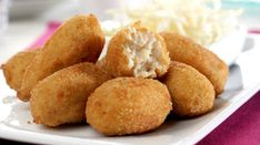 Croquetas sin gluten de pollo y jamón ¡Buenísimas!   #CroquetasSinGluten #RecetaCroquetas #RecetasSinGluten #CroquetasDePollo #tapas #RecetasEspañolas #CocinaEspañola