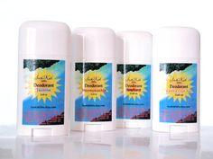 Honeysuckle Deodorant  Natural Deodorant  by SunKidOrganics