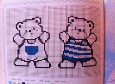 Gráficos Ponto Cruz e Artesanato: Bebê