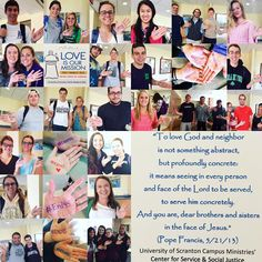 scranton_crsWe are so excited that so many Scranton students, faculty, and staff are helping to #End45 !! As #PopeFrancis urges us to love and care for those on the margins, we hope more and more people will take his message to heart and get involved in any way possible to #End45 #CRSUniversity