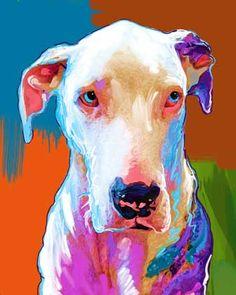 Great Dane Project.  Olivia  by Rebecca Collins - artpaw.com