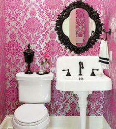Click Pic for 30 Small Bathroom Decorating Ideas - Bright Colors - Small Bathroom Remodel Ideas