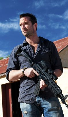 Sullivan Stapleton ....Strike Back. The only man to drop more F-bombs than me.