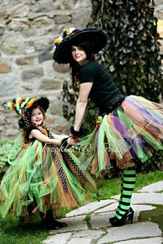 mommy & daughter costume