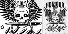 """""""Church , Skull , Dagger"""" t-shirt design by xDerickJamesx"""