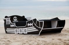 PIRATE BED - Little Boys Rooms, Big Boys, Kids Rooms, Kids Bedroom, Pirate Bedding, Ahoy Matey, Room Ideas, Decor Ideas, Pirate Life