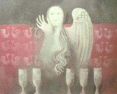 komárek vladimír obrazy - Hledat Googlem Old Church Slavonic, Serbo Croatian, Illustration, Painting, Art, Art Background, Painting Art, Kunst, Paintings