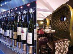 Vinroom in Calgary. Enomatic wine dispenser.