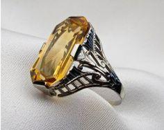 citrine-filigree-ring