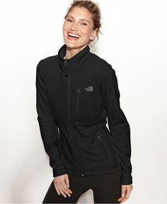 The North Face Jacket, RDT Momentum FlashDry Fleece - Coats - Women - Macy's