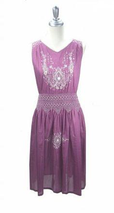 The Anais Dress - Aubergine
