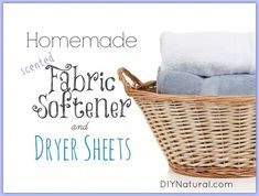 Use vinegar and essential oil as fabric softener. | 29 Hacks For The Frugal Clean Freak