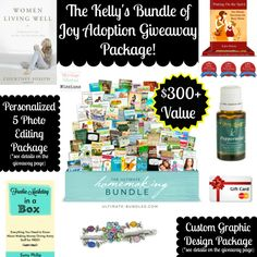 The Kelly's Bundle of Joy Adoption Sale & Giveaway