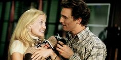 Kate Hudson and Matthew McConaughey in How to Lose a Guy in 10 Days, 2003 Matthew Mcconaughey, Best Romantic Comedies, Romantic Movies, Chick Flicks, Couple Magazine, Best Rom Coms, Elle Mexico, Bon Film, Complicated Relationship