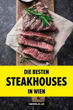 Steaks, Best Steak, Restaurant Bar, Bbq, Food Tags, Burger, Vienna, Lokal, Kaiserschmarrn