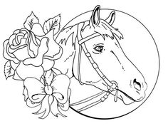 Coloring Horse Pages For Girls And Free Printable Kids Best Of To Col