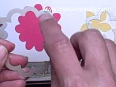 Watch this video for very Valuable tips  tricks to use with Stampin' Up!'s Flower Patch Bundle. It will be a time saver. www.mystamplady.com