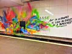 'Art in a frame...' - Imgur