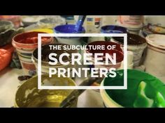 In this episode of Subculture Club we take you to the studio, the warehouse, the party, the home and the private office space of some of the most influential screen printers in Los Angeles, California. You have seen their posters, their t-shirts and their prints all over your city. Now get an intimate look into the art, the inspirations and the business behind screen printing.