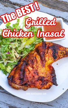 This is seriously the easiest and tastiest chicken inasal recipe! Chicken Inasal is the Philippines' famous barbecue or grilled chicken. The marinade made from vinegar, lemon and sprite permeate the entire chicken making it both tender and tasty. This can be roasted in the oven or grilled. Ground Chicken Recipes, Grilled Chicken Recipes, Best Dinner Recipes, Healthy Chicken Recipes, Lunch Recipes, Summer Recipes, Asian Recipes, Chicken Inasal Recipe, Incredible Recipes