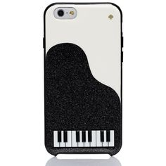 Kate Spade Jeweled Piano Iphone 6 Case (€45) ❤ liked on Polyvore featuring accessories, tech accessories and kate spade