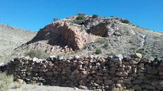 Old ruin in Valles Canyon.