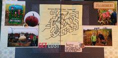 "Cook Scrap Craft: ""Get Lost"" - fall #scrapbook page"