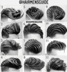 Mens Hairstyles With Beard, Cool Hairstyles For Men, Boy Hairstyles, Hair And Beard Styles, Haircuts For Men, Curly Hair Styles, Barber Hairstyles, Popular Mens Hairstyles, Hairstyle Men