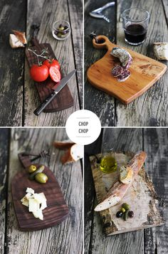 from Bri Emery--Love charcuterie and tomatoes and bread...very euro :)