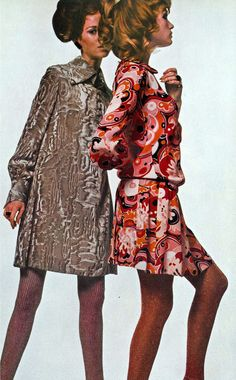 Willy Van Rooy and unknown model by Just Jaeckin vogue 1967