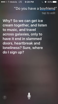 I think Siri needs to talk with someone