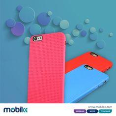 Birbirinden şık rengarenk iphone 6 plus nokta desenli kılıflar çok uygun fiyata mobilce.com'da..