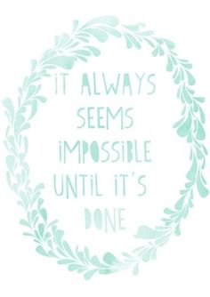 It always seems impossible until it's done via http://indulgy.com