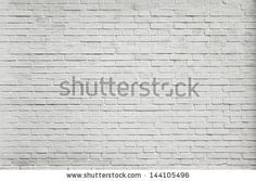 Grungy textured white horizontal stone and brick paint architectural wall and floor inside old neglected and deserted interior, masonry and carpentry brickwork concept - stock photo