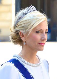 Princess Marie-Chantal's Fringe Tiara