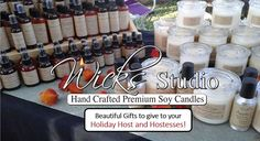 Beautiful Gifts to give to your Holiday Host and Hostesses!  wicksstudio.com/?target=main #WeddingCenterpieces #Weddings #BridalShowers #Quinceañera #BabyShowers #WeddingAnniversary #Birthdays #RoomSprays #BodySprays #BodyScents #Melts #MelTins, #FragranceOils #EssentialOis #Lotions #MassageOils #BathOils