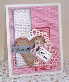 Cute Scrapbooking idea for Valentines Day