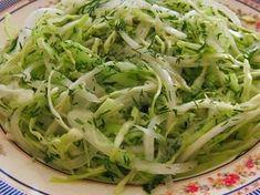 Zelný salát s koprem - Vitariánství, živá strava, RAW