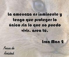 Frases de iron man de Iron Man 2