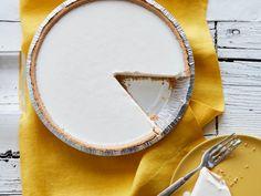 Frozen Lemonade Pie recipe from Food Network Kitchen Frozen Lemonade Pie, Frozen Strawberry Lemonade, Frozen Strawberries, Pink Lemonade, Lemon Desserts, Frozen Desserts, No Bake Desserts, Delicious Desserts, Frozen Treats