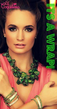 www.lacoqueteria.co #lacoqueteria #accesorios #bisuteria #fina #fashion #shopping #aretes #collares #anillos #brazaletes #accesories #mexico #monterrey #merida #moda #boda #casual #vestidos #tiendaenlinea #joyeria