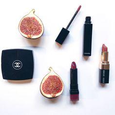 Kosmetyki Chanel - ciemne usta na zimę #chanelcosmetics <3