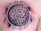 Golf Tattoo on Pinterest | Gypsy Rip Tattoos For Dad, Grandpa Tattoo, Pin Up Tattoos, Time Tattoos, New Tattoos, Sleeve Tattoos, Tatoos, Justin Tattoo, Future Tattoos