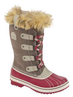 Tofino Boot  Boot #Fauxfur #Lace-up #HatsKids