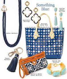 Blue accessories #spartina449