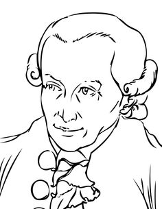 Kant coloring page
