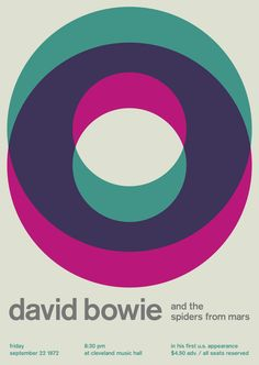 "Poster - ""David Bowie"" via MADE BY U - democratic design. Click on the image to see more!"