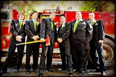 I should just plan on doing this since marrying a firefighter is on my to do list!